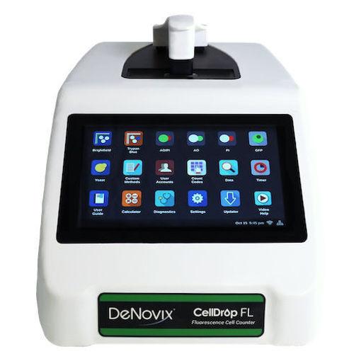 Contador celular con óptica de fluorescencia dual CellDrop FL-PAYG