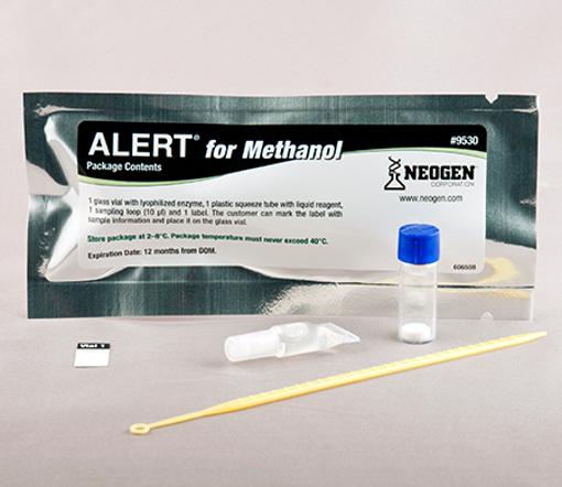 Alert kit para detección de metanol x 20 test