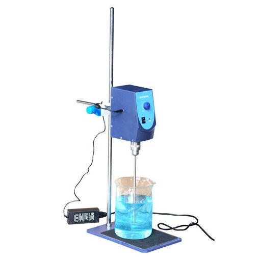 Agitador a varilla analógico con doble paleta 20 lts.