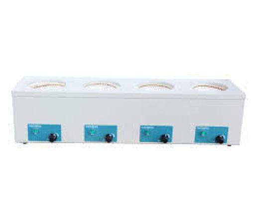 Manto calefactor de 4 posiciones con regulación individual