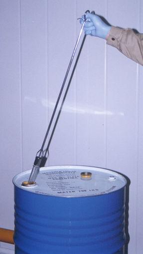 Muestreador para Liquido de Acero inoxibable BL-FR (líquidos)