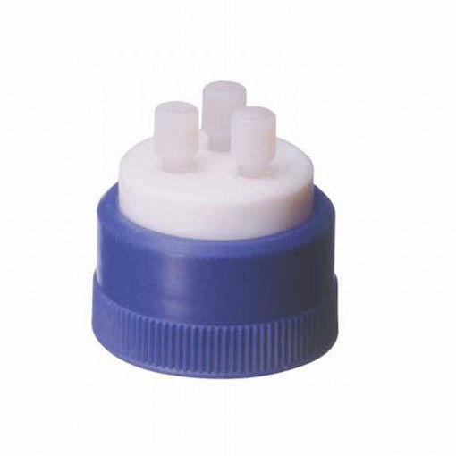 HPLC-Tapa Sistema recuperación de solventes GL45 con 3 orificios