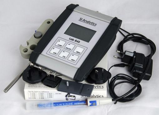pHmetro Lab 845 con electrodo Blueline 29PH