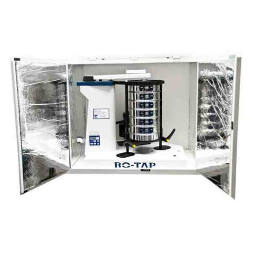 Gabiante antiruido para tamizadora RO-TAP RX29