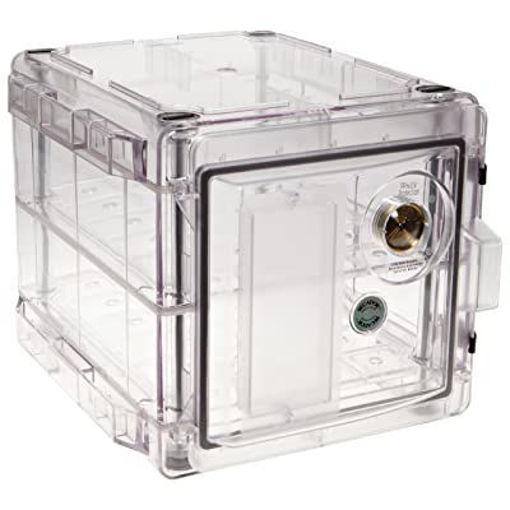 Gabinete desecador vertical con válvula