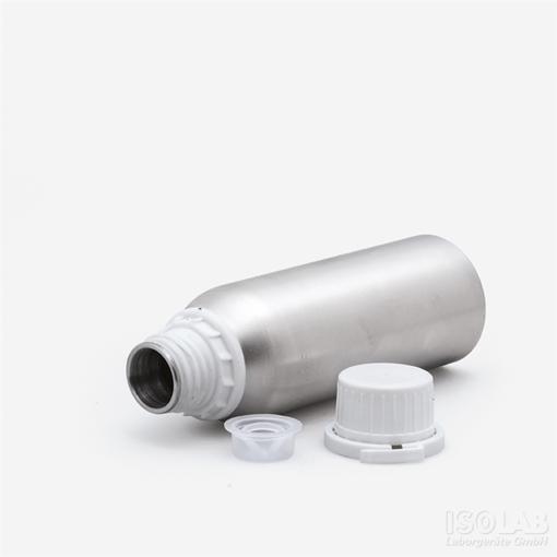 Botella de Aluminio con tapa precinto inviolable x 1200ml