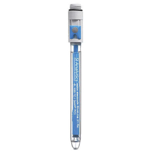 Electrodo 14PH combinado de vidrio recargable tipo triodo con sensor de temperatura incorporado NTC 30 Kohm con cable y ficha DIN + ficha Banana