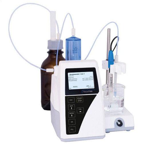 Titulador TITROLINE 5000 modulo 2 para la determinacio de acido base