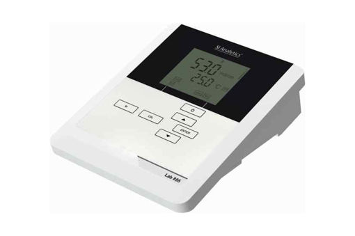 pHmetro Lab 855 completo con electrodo 14PH (sensor de temp. de platino incorporado) y soporte