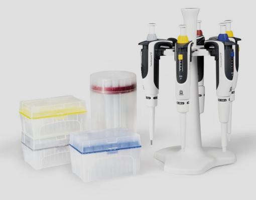 Kit de 5 pipetas Transferpette® S 0,5-10, 10-100, 20-200, 100-1000 y 500-5000µl