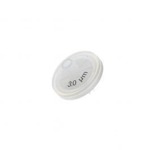 Filtro de membrana de 3 No esteril