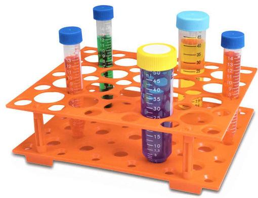 Gradilla para tubos de 15ml (30 posiciones) / 50ml (20 posiciones)