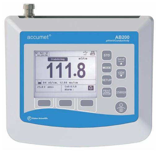 Phmetro/ conductímetro/ resistivímetro AB200