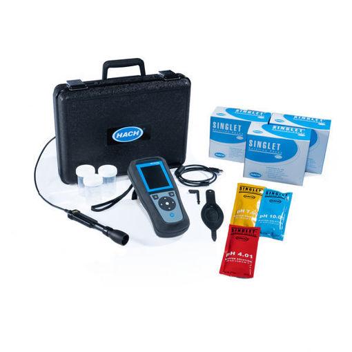 Medidor portátil HQ1110 + sonda PHC10101 para pH