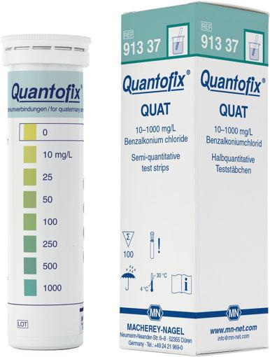 Tiras QUANTOFIX Benzalkonium chloride x 100 tiras