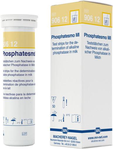 Tira cualitativa Phosphatesmo MI para la fosfatasa en la leche x 50u.