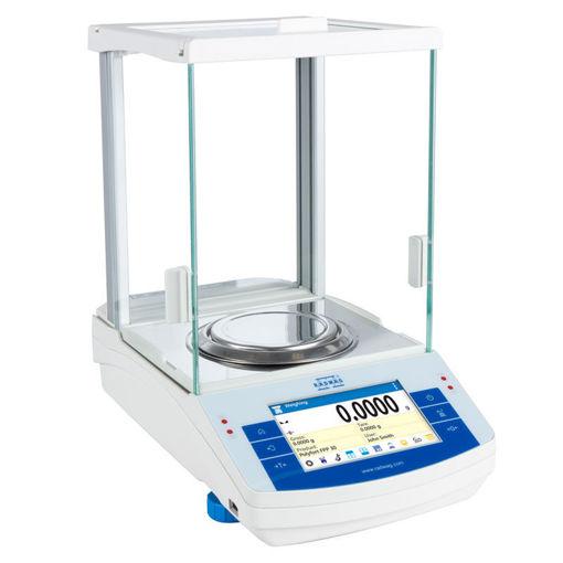 Balanza analítica AS 220.R2 PLUS 0,1mg / 220gr.