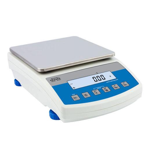 Balanza de precisión WLC con calibración externa